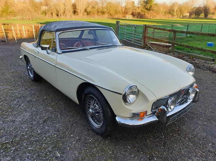 1964 MGB - One of the best available - over 20k spent on restoration less than 2000 miles ago - Pull Handle early model - £15,750